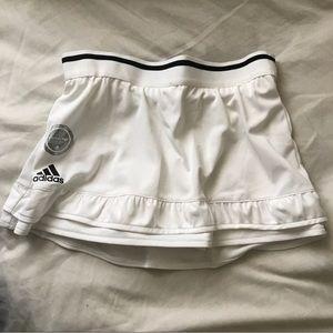 NWT xs White Adidas Tennis Skort